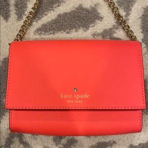 Hot Pink mini Kate Spade purse